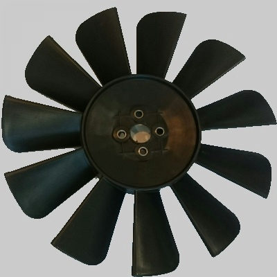 Вентилятор Волга, Газель 8 и 11 лопостей, цвет черный
